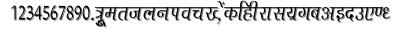 Agra_cn font