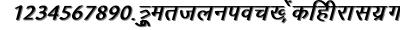 Arjunbi font