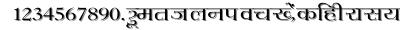 Hemant_w font