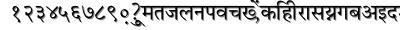 Priya font