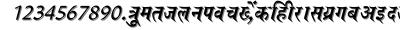 Saroji font
