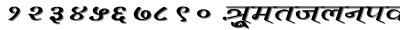 Vimal_wd font