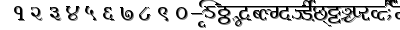 Millenniumameya font