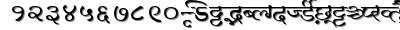 Millenniumganesh font