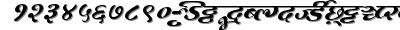 Millenniummogara font