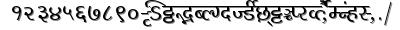 Millenniumshailesh font